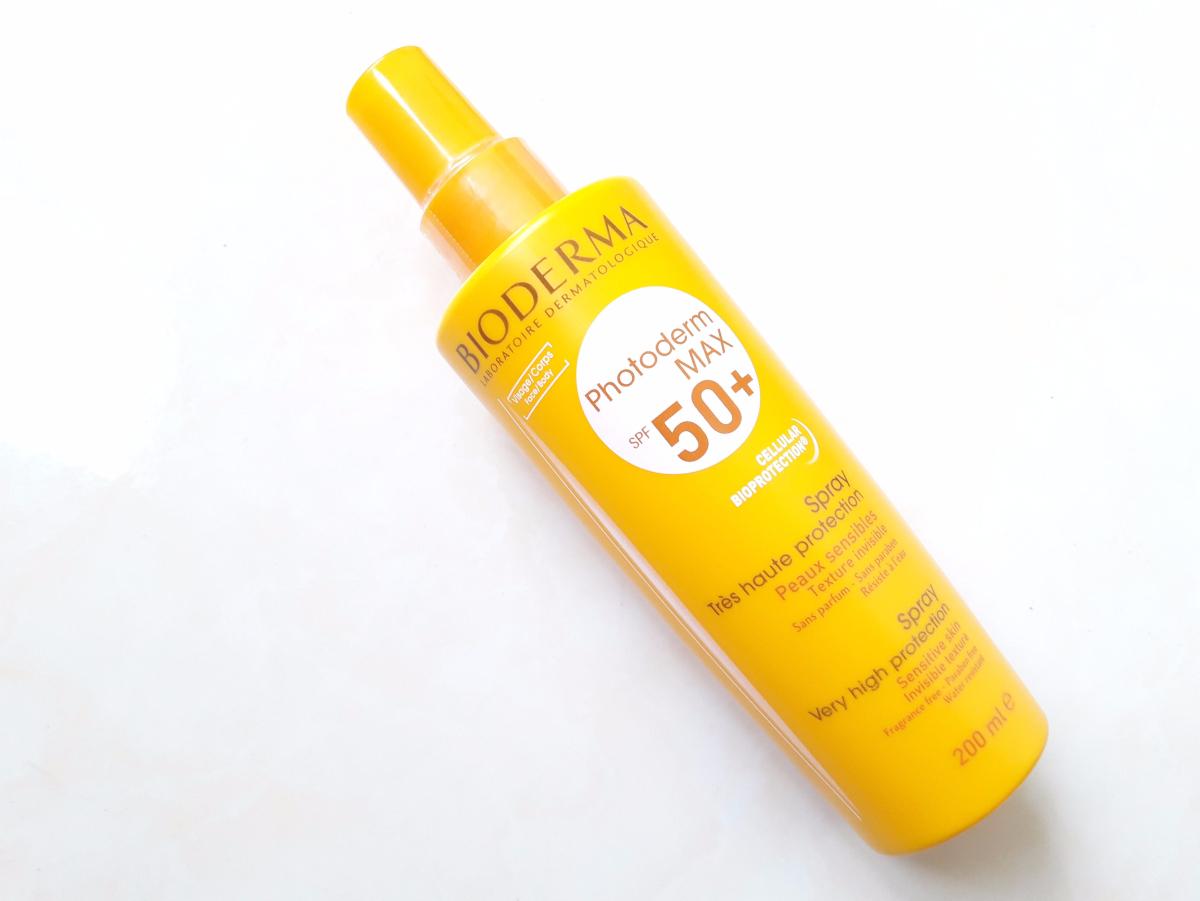 [Review] Kem Chống Nắng Bioderma PhotoDerm Max Spray SPF50+