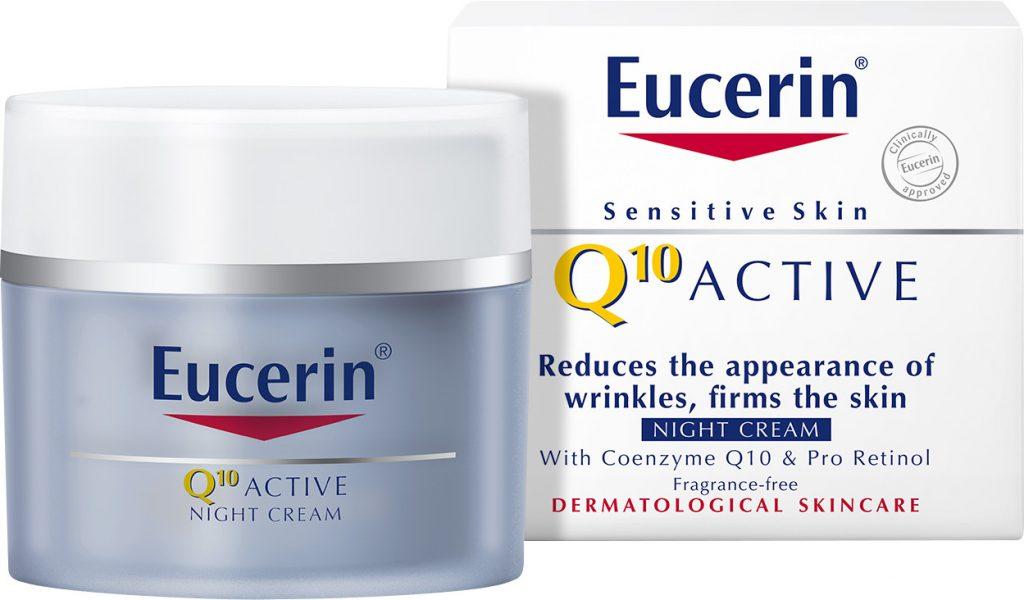 Kem Dưỡng Da Chống Nhăn Ban Đêm Eucerin Q10 Active Night Cream