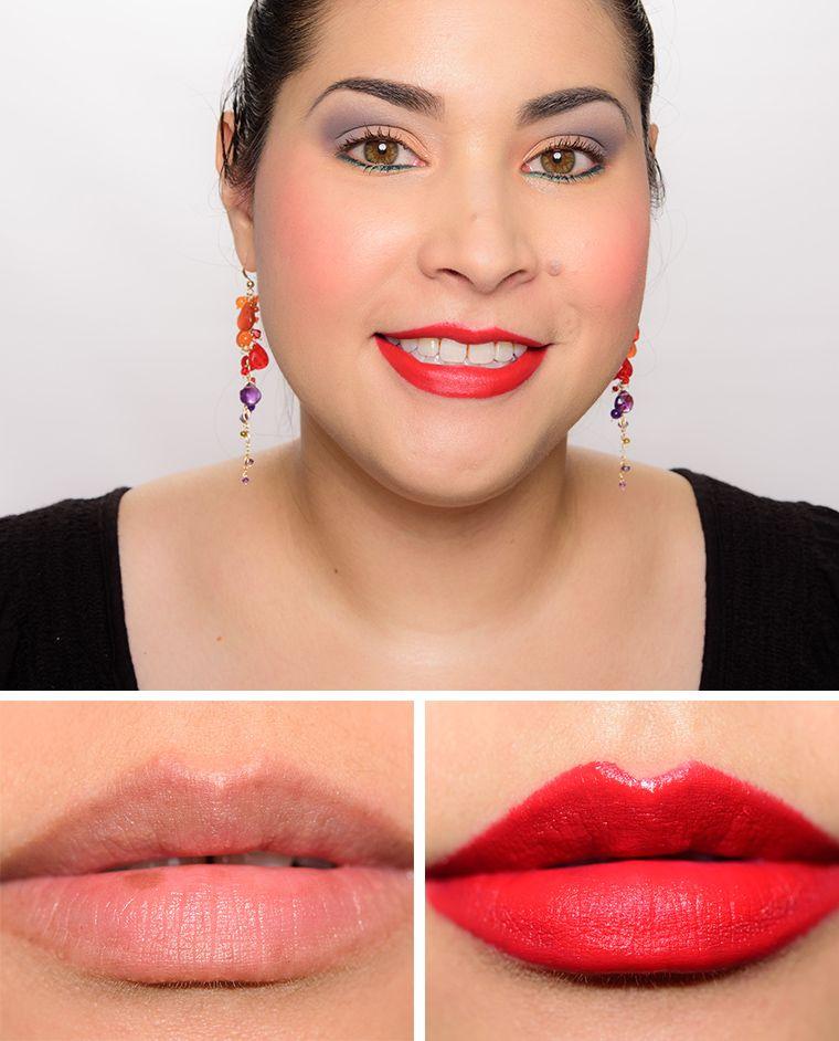 MAC Lipstick - Red Rock