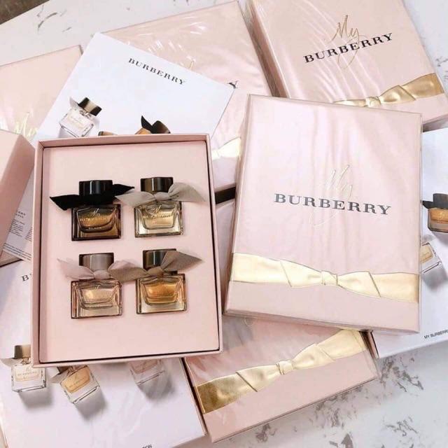 Giftset Burberry My Burberry 3pcs Giá tốt nhất - Orchard.Vn