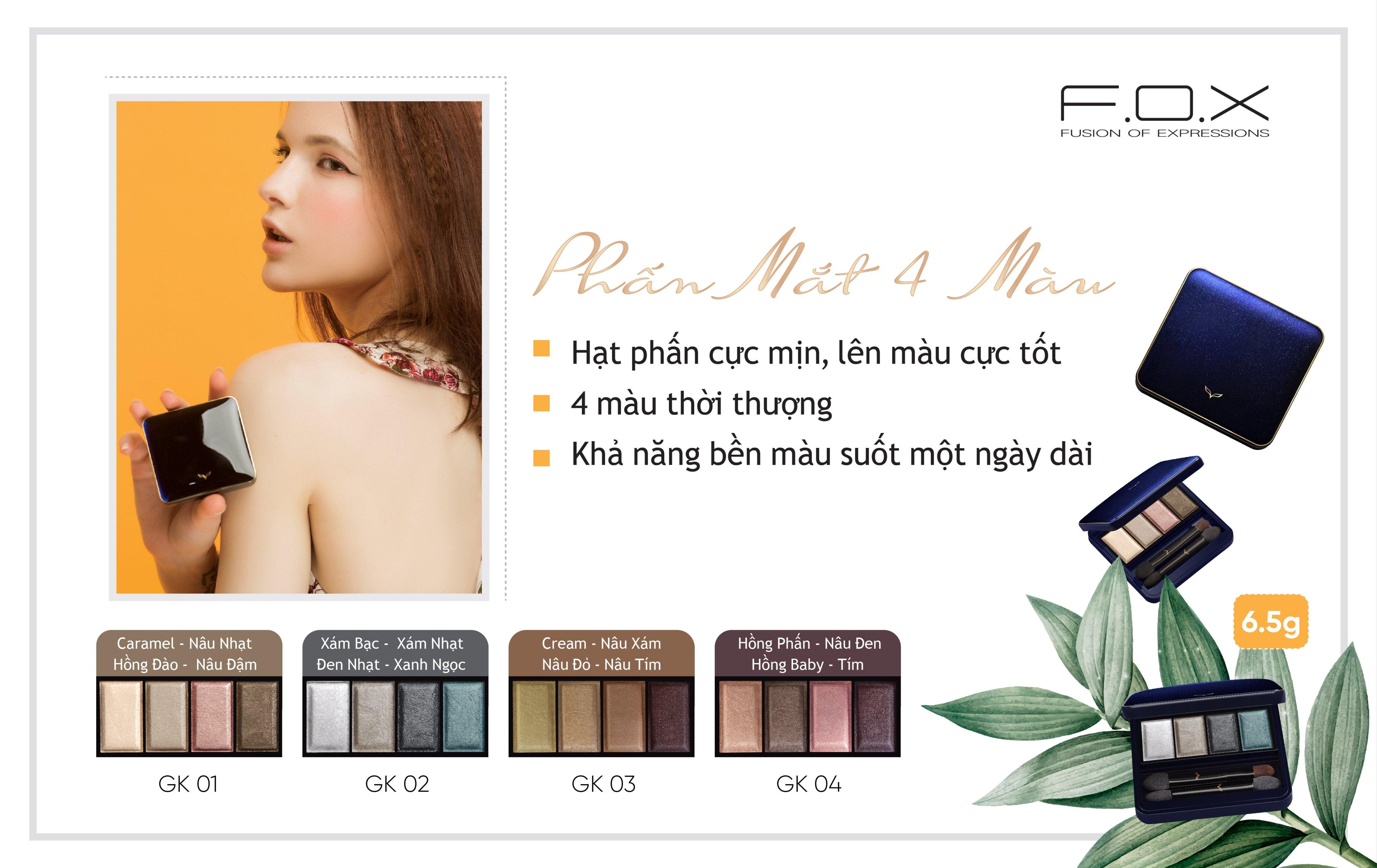 Phấn Mắt Fox Eyeshadow Palette Giá Tốt Nhất - Orchard.vn