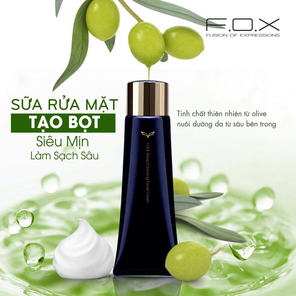 Sữa Rửa Mặt Fox Deep Cleansing Facial Cream - Orchard.vn
