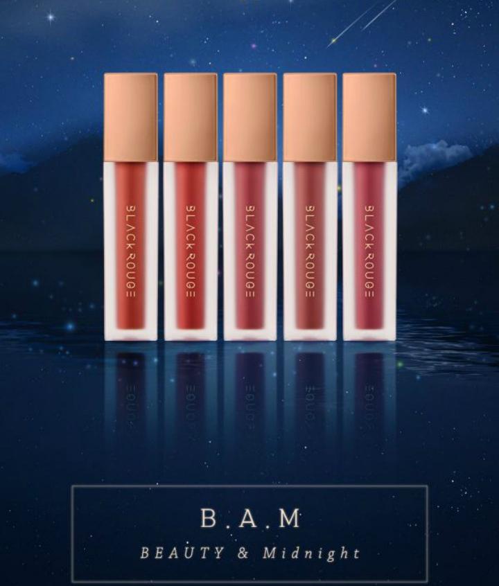 Son Kem Black Rouge Airfit Velvet Tint Ver 5 BAM - Orchard.vn