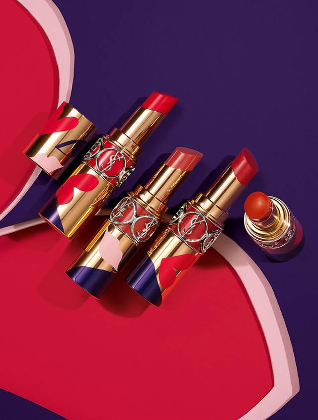 Son YSL Rouge Volupte Shine Lipstick Love Giá Tốt Nhất - Orchard.Vn